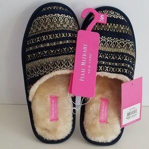 Isaac Mizrahi NY slippers women size 5/6